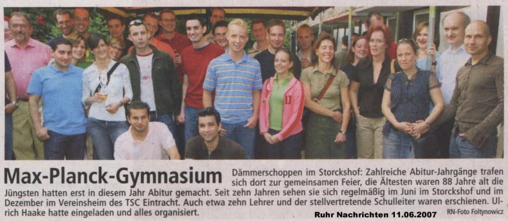 RN Bericht Sommer 2007