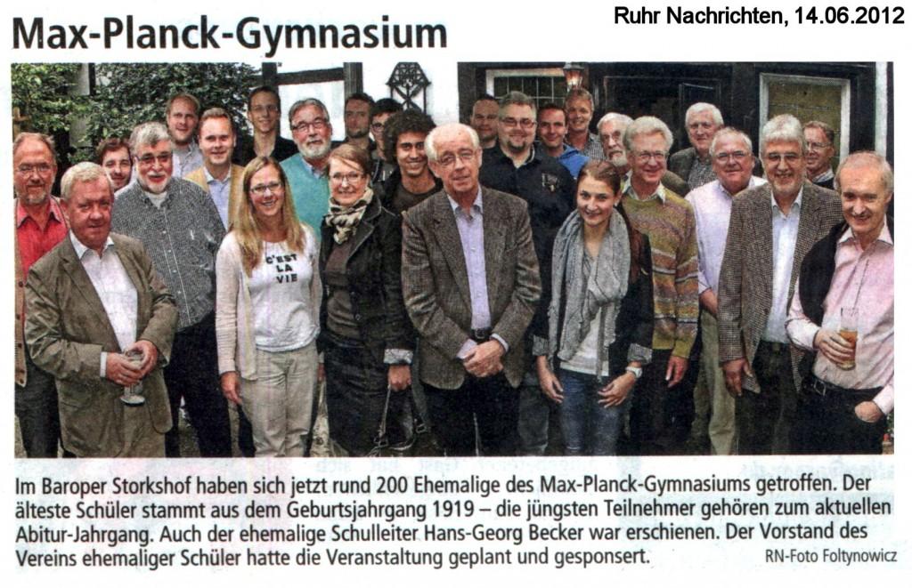 RN Bericht Sommertreffen 2012