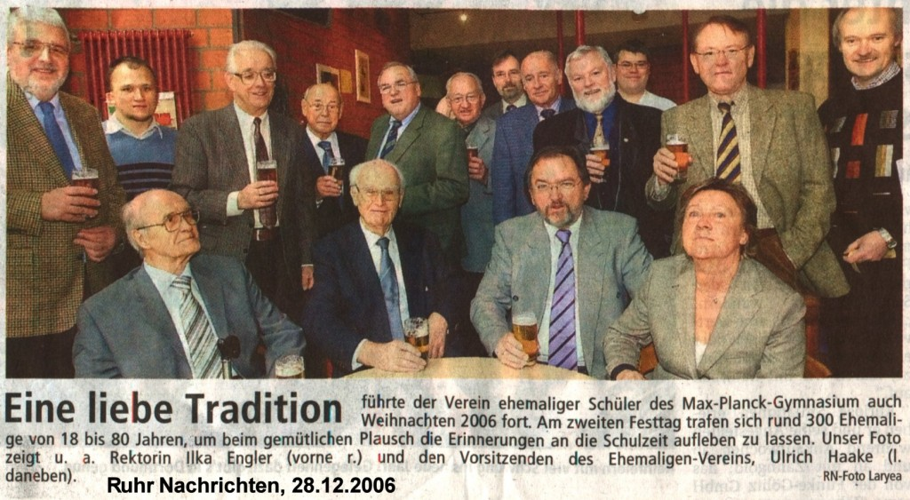 RN Bericht Weihnachten 2006
